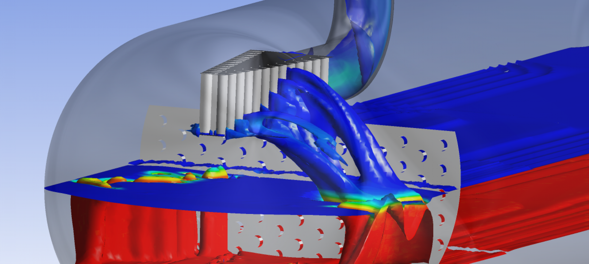 CFD of 3-phase separator | Kranj Solutions