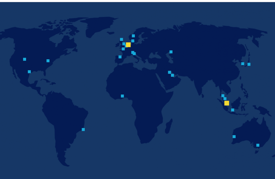 Our worldwide locations
